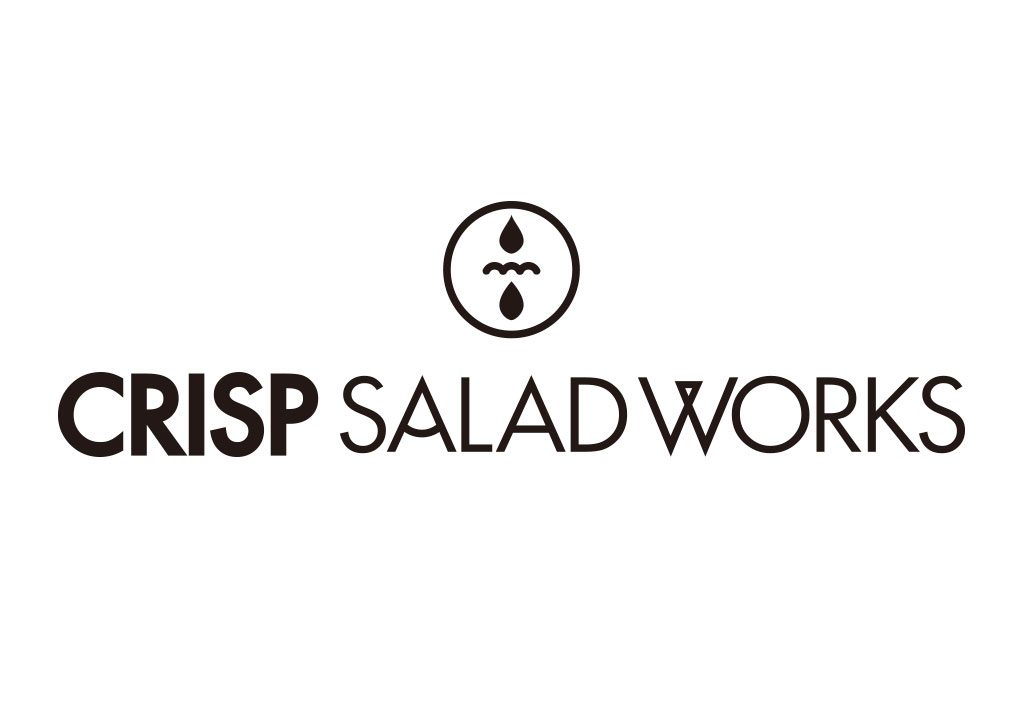 CRISP SALAD WORKS LOGO